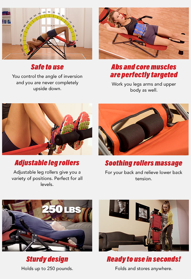 Soothing rollers massage, Sturdy design, Ready to use in seconds